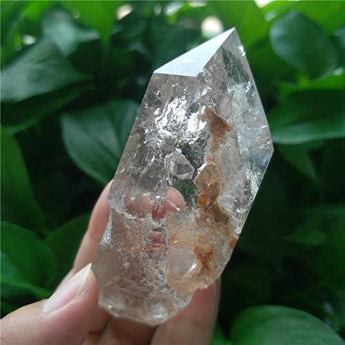 Raspbery Fantasma Natural Cuarzo Fantasma Natural Fluorita Cristal Gema Colgante Muestra gorgeously