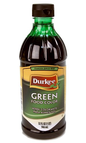 Durkee Green Food Coloring, 32 OZ (Pack of 6) by B&G FOODS,INC