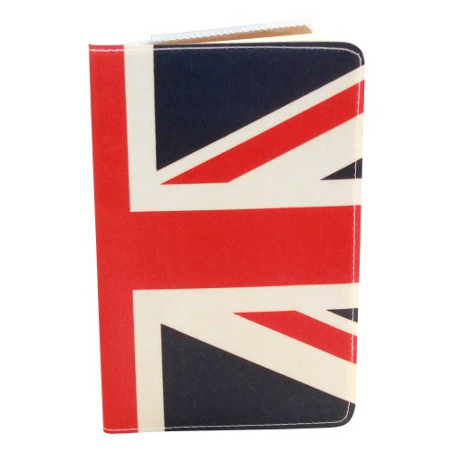 Covered Notepad - UK Flag Covered Moleskine Notebook