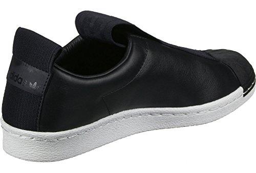 adidas Damen Superstar Bw35 Slipon W Sneaker Schwarz Weiß