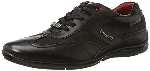 Bugatti 311255021010, Zapatillas para Hombre Negro (Black/Black 1010)