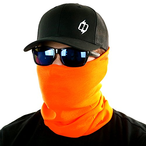 High Viz Seamless UPF-30 High Performance Moisture Wicking Bandana Made of 100% Polyester Microfiber ()