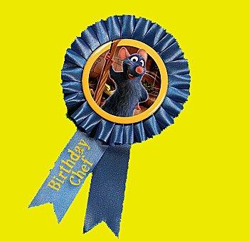 - Ratatouille Guest Of Honor Ribbon / Favors (1ct)