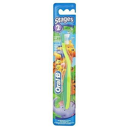 Cepillo de dientes 96170 de Oral-B, etapa 2, de Winnie the Pooh