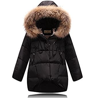 Amazon.com: Roseate Girl's Quilted Puffer Coat Winter Cute