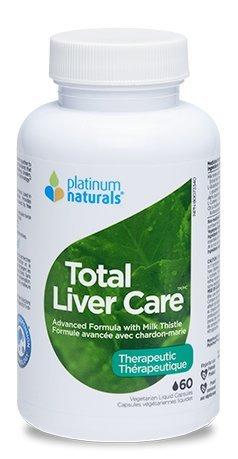 Platinum Naturals Total Liver Care, 60 Capsules by Platinum