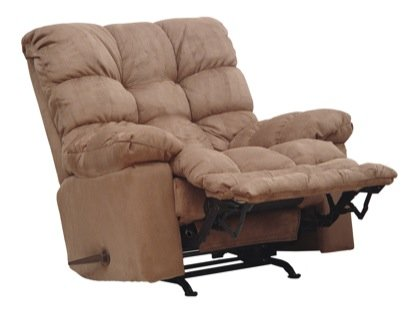 Magnum Chaise Recliner Color: Saddle