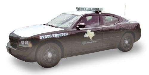 Lindberg Models Dodge Charger Texas State Patrol Car 1/24 Presicion