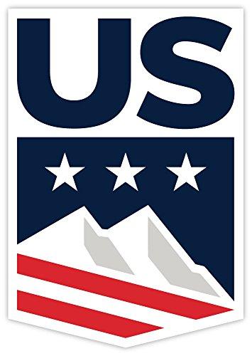 US ski snowboard team sticker decal 4