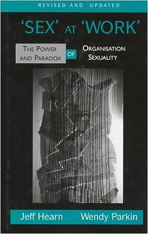Organization paradox power sex sexuality work