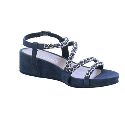 Bleu Sandales Femme la à Lazamani Mode TzxAnna