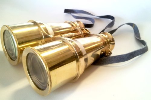 Brass Binoculars 6'' - Binoculars - Nautical Decor Home Decoration - Executive Promotional Gift