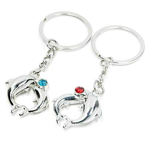 Lovers Keychain a Series of Diferent Style Keychains for Couples (Dolphin) ()