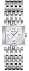 Tissot Women's T02158174 Six-T Mother-Of-Pearl Diamond Dial Watch