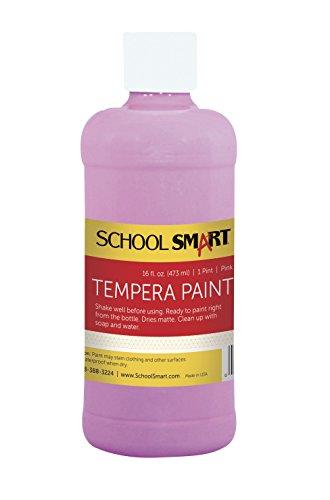 school-smart-tempera-paint-pint-pink