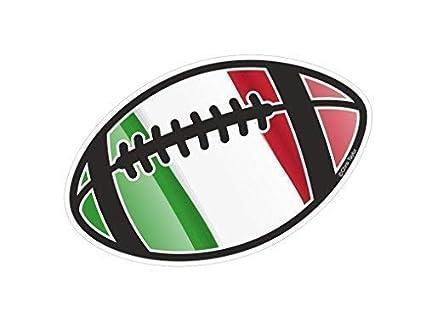 Balón de Rugby Motivo con Bandera Italiana para Rugby Equipo ...