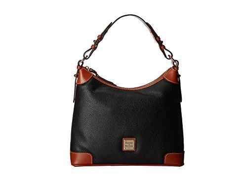Dooney & Bourke Pebble Grain Leather Hobo Black