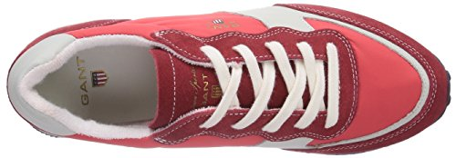 GANT FOOTWEAR Campus - zapatilla deportiva de cuero mujer rojo - Rot (royal red  G58)