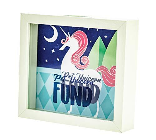 (Boston Warehouse Rainy Day Fund Savings Bank Unicorn 8 x 7)