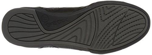 Geox U Kristof A, Men's Low-Top Sneakers Black (Blackc9999)