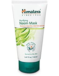 Himalaya Purifying Neem Mask with Turmeric, Normal to Oily Skin 5.07oz/150ml