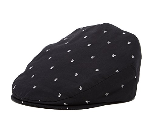 skull-driver-newsboy-caps-nb-42-cm-0-6m-black-white-