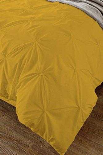 98f67b5b5ac5 85%OFF Fenesta Décor Stylish Pinch Pleated 1 PCs Decorative Duvet  Cover(Gold