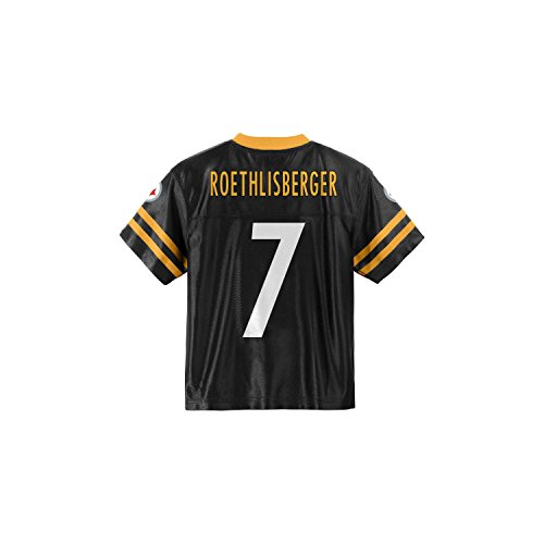 Wholesale Pittsburgh Steelers Ben Roethlisberger Black Youth NFL Player Home Jersey (Small 8) free shipping