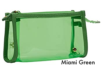 4d1810a1aef4 Amazon.com   Halo Studio Gifts Small Zip Cosmetic Bag Green   Beauty