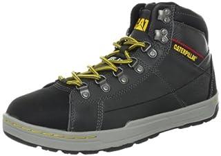 Brode Hi Steel Toe Skate Shoe,Pepper,11