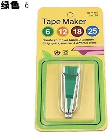 ZheJia Tape Maker Tool Bias Fabric Sewing Quilting Yellow 12mm