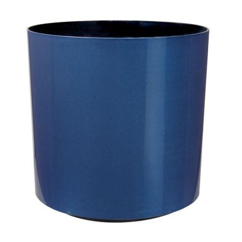 American Essence EP-AEODE-CBLU-20 20 x 18 in. Odessa Round Planter44; Cobalt Blue Metallic by American Essence