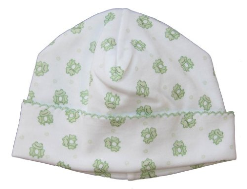 (Kissy Kissy Baby Boys Homeward Bound Froggie Print Hat-Newborn)