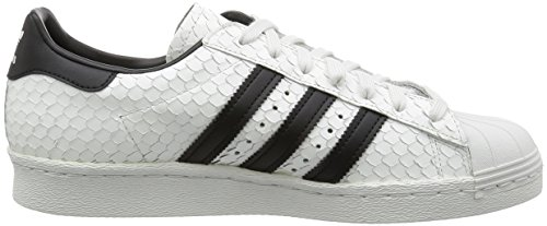 Pour Adidas Superstar Originals Blanc Homme Baskets 80s v01vB