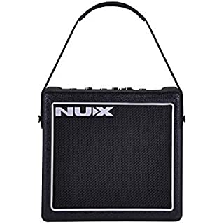 NUX Mighty 8SE 8-Watt Portable Digital Guitar Amplifier 6 Distortion types Flat 3-band EQ 4 Modulation, Delay and Reverb effects,7 Preamp Simulation