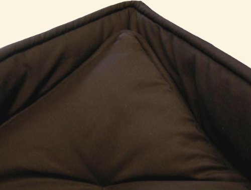 SheetWorld Cradle set - Solid Brown Cradle Set - Made In USA