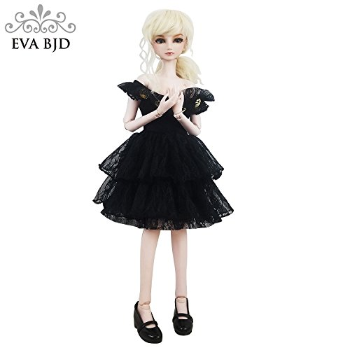 Charm Spy Jimmy 1/3 BJD Doll 24inch Ball Jointed Dolls Reborn Figure + Full Set Accessories + Shoes + Hair + Clothes by EVA BJD (Image #3)