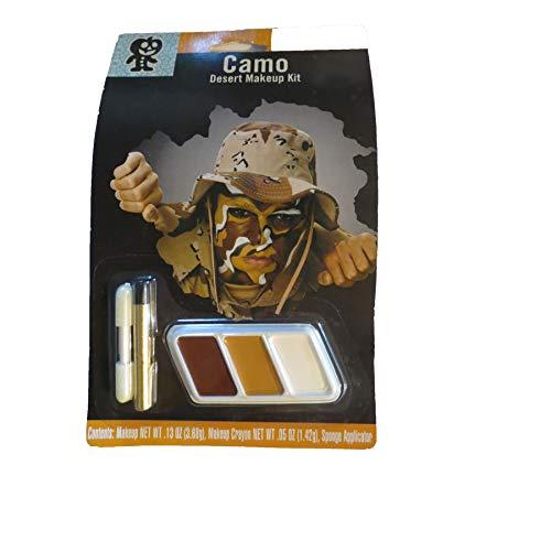 target Camo Desert Camouflage Halloween Makeup Kit -
