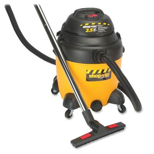 Shop-Vac 9622110 2.5-Peak Horsepower Industrial Wet/Dry Vacuum, 12-Gallon