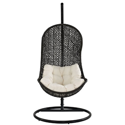 Modern Outdoor Swing Lounge Chair White price