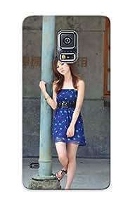 Hot Fashion LjdRhiK3355TLovI Design Case Cover For Galaxy S5 Protective Case (sexy Asian Girl)