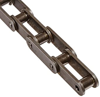 "Morse C2060HR 10FT Double Pitch Standard Roller Chain ANSI C2060H Riveted 1 Strand Steel 1-1/2 Pitch 0.468"" Roller Diamter 1/2"" Roller Width 8500lbs Average Tensile Strength 10ft Length"""
