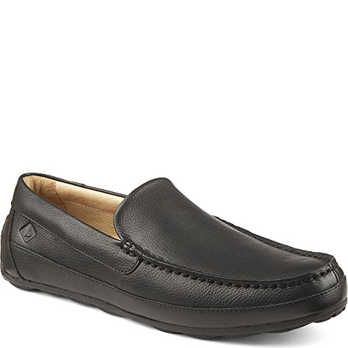 Sperry Top-Sider Men's Hampden Venetian Slip-On Loafer, Black, 10.5 M US (Sperrys Mens Driver Black)