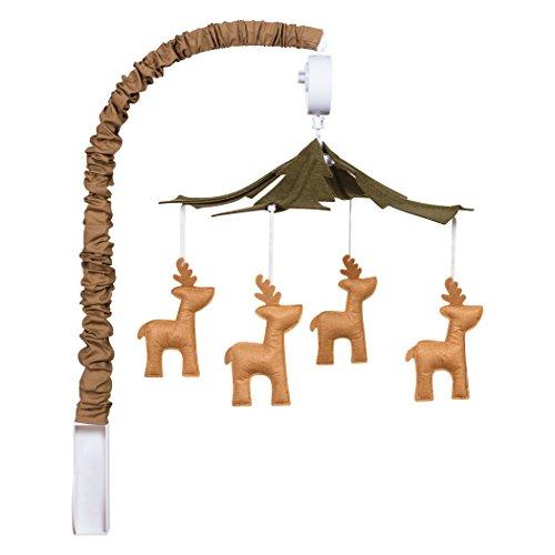 Trend Lab Deer Musical Crib Mobile, Baby Mobile, Nursery