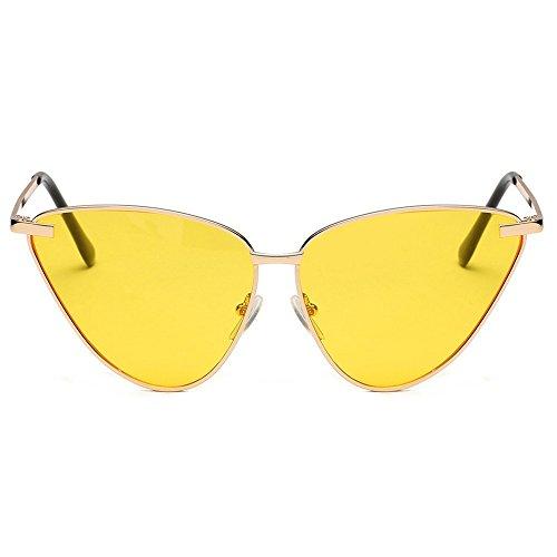 de gafas de de personalidad gafas para mujer Gafas Gafas masculinas sol 6 Uno y sol metal femeninas sol de de de sol generales Shop xPT0SqX