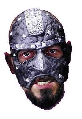 [Disguise Costumes Executioner Vinyl Chinless Mask, Adult] (Biker Halloween Costumes For Adults)