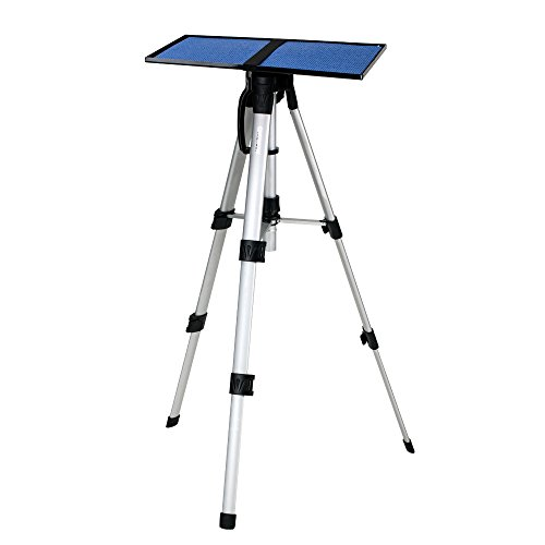 Projector Tripod Stand CHEERLUX Projector Screen Tripod Stand Adjustable Hight 16in to 47in For Tablets Ipads Photography Laptop With Plate And Carrying Bag
