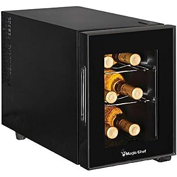 Amazon Com Frigidaire 8 Bottle Wine Cooler Fwc084hm