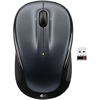 Logitech Wireless Mouse M325 Dark Silver (910-002816)