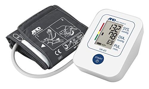 A&D Medical UA-611 Tensiómetro de brazo digital, lecturas de presión arterial rápidas, cómodas y precisas, validado… 10
